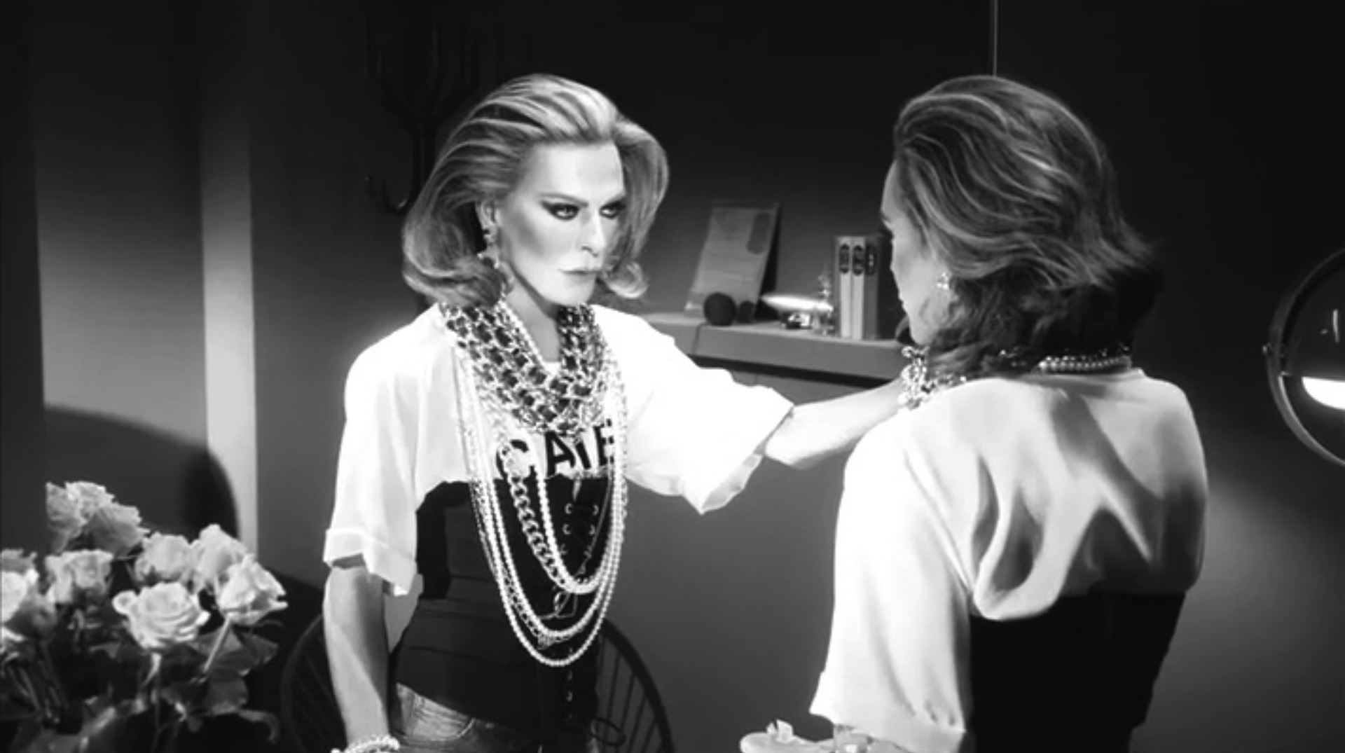 DSQUARED, Behind the Mirror –Mert and Marcus + Charlie Harvey at the Whitehouse Post London