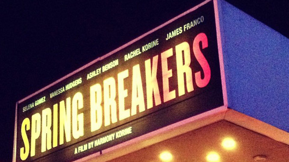 Spring Breakers – Harmony Korine + Adam Robinson at the Whitehouse Post in New York - for blog